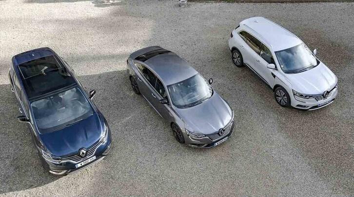 Il tridente di lusso Renault, prova su strada