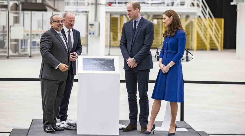McLaren, visita Reale
