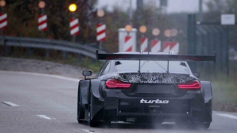 BMW M4 DTM, il sound del 4 cilindri turbo