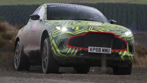 Aston Martin DBX, lo sviluppo del suv