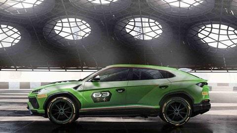 Lamborghini Urus ST-X Concept, Super Suv da corsa