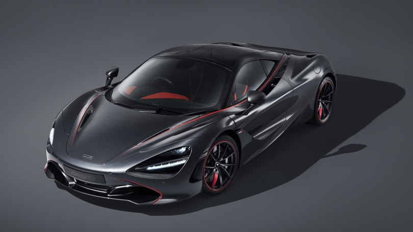 McLaren 720S Stealth, unica by MSO