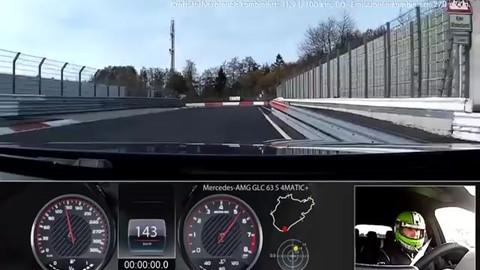 Mercedes-AMG GLC 63 S, suv da record al Nurburgring: video