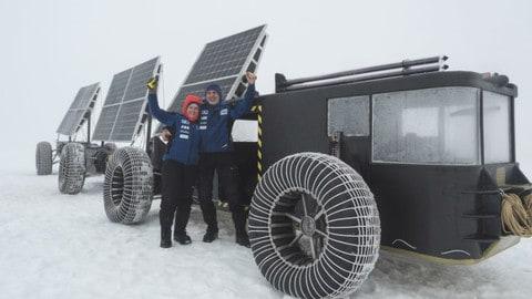 Video: Clean2Antartica, test in Islanda