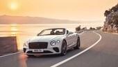 Bentley Continental GT Convertible, silenzio da coupé