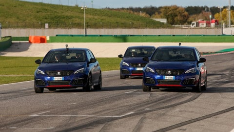 Video: Peugeot 308 GTi by Peugeot Sport dell'Arma dei Carabinieri