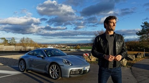 Video: nuova Porsche 911, la 992 battezzata da Mark Webber