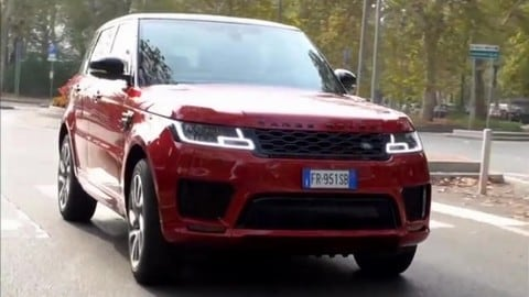 Video: prova Range Rover Sport PHEV