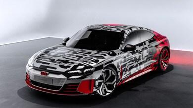 Audi e-tron GT Concept, la super berlina elettrica sulle orme di Taycan