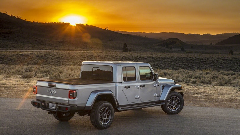 Jeep Gladiator 2020, pick-up definitivo