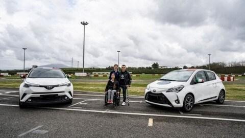 Toyota e Art4Sport, corso di guida sicura per disabili: foto