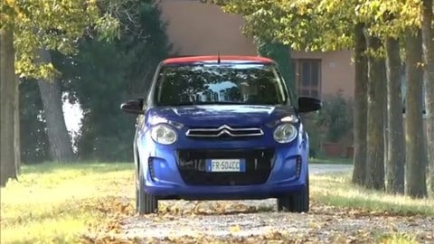 Citroen C1 Airscape: la video prova