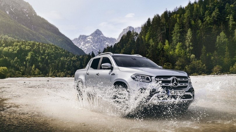 Mercedes Classe X, la prova completa in off-road