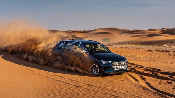 Audi e-Tron, il test del SUV elettrico