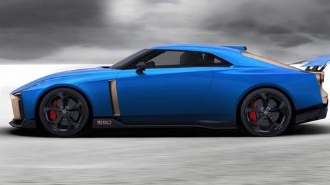 Nissan GT-R50 Italdesign: foto