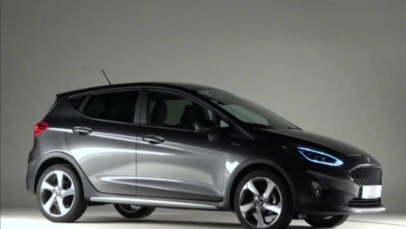 Ford Fiesta Active 1.5 tdci: video prova