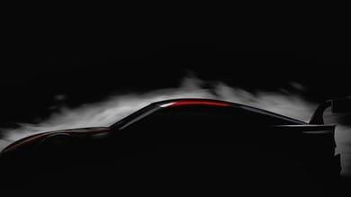Nuova Toyota Supra Super GT, concept a Tokyo
