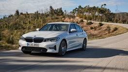 Nuova BMW Serie 3, la prova