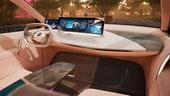 BMW iNext con Virtual Drive al CES di Las Vegas