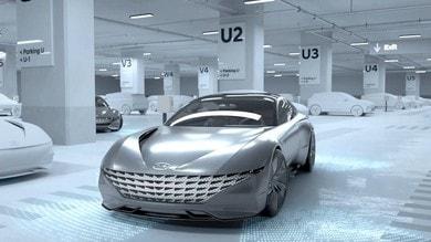Hyundai e Kia: Valet concept autonomo e ricarica wireless