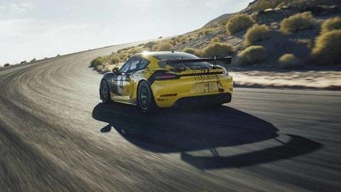Porsche 718 Cayman GT4 Clubsport: foto