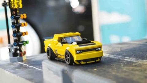 Dodge Speed Champions con Lego: foto