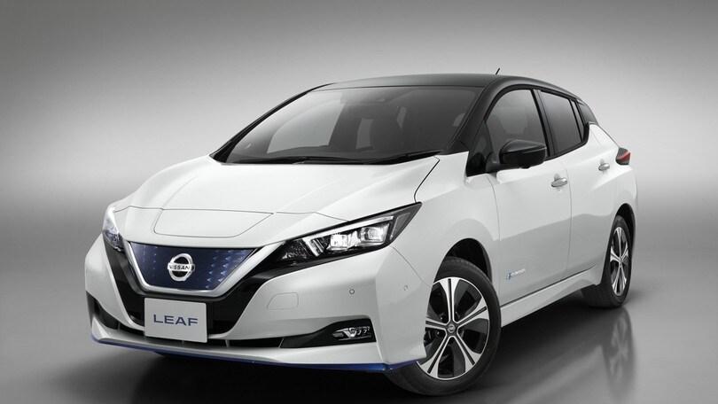 Nissan Leaf e+, al CES 2019 debutta la batteria da 62 kWh