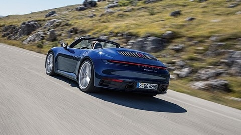 Nuova Porsche 911 Cabriolet: foto