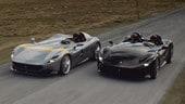 Ferrari Monza SP1 e SP2, icone in azione