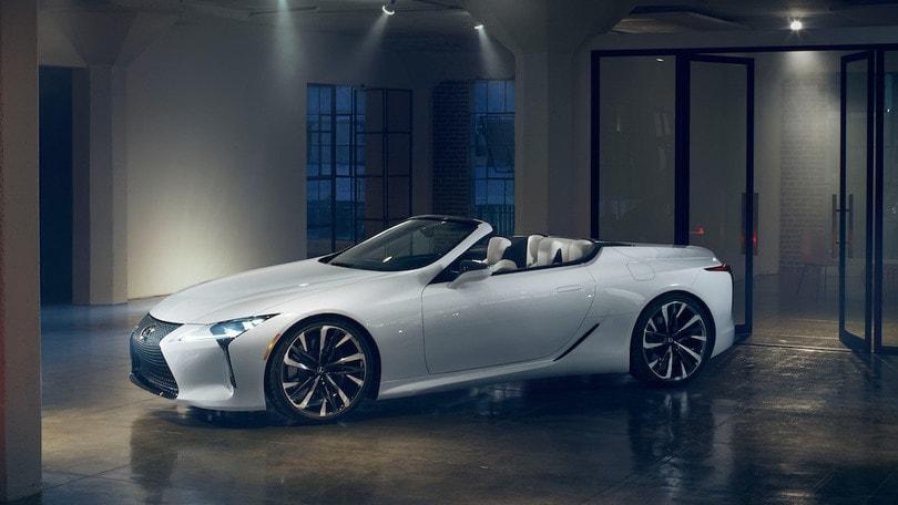 Lexus LC Convertible, a Detroit un concept pronto per la serie