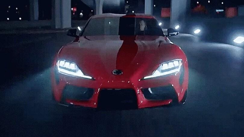 Nuova Toyota Supra, prime immagini sfuggite in rete