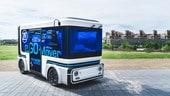 Il minibus per la mobilità condivisa sarà elettrico e autonomo