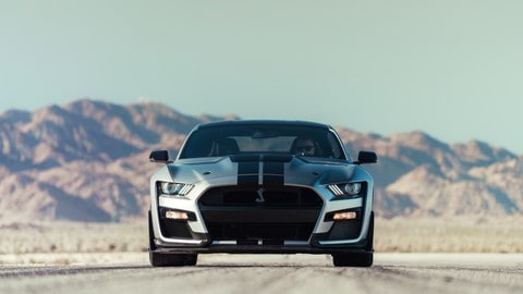 Nuova Mustang Shelby GT 500: foto