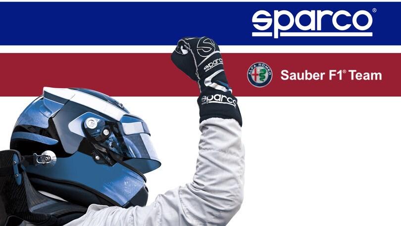 Sparco nuovo parnter tecnico di Alfa Romeo Sauber F1 Team