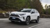 Toyota RAV4, prova su strada del suv ibrido