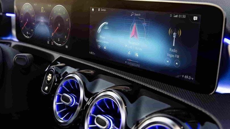Mercedes MBUX, il sistema di infotainment si aggiorna