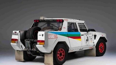 Lamborghini LM002 Rally Dakar 1987: foto