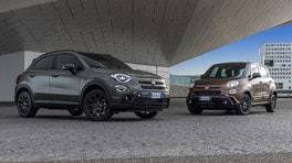 Fiat 500X e 500L, sportive con S-Design