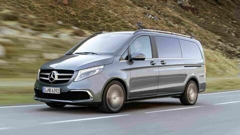 Mercedes Class V, ecco il VIP shuttle