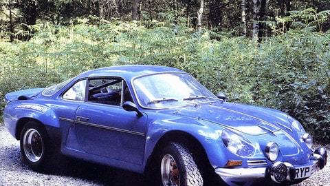 Alpine A110: le foto storiche