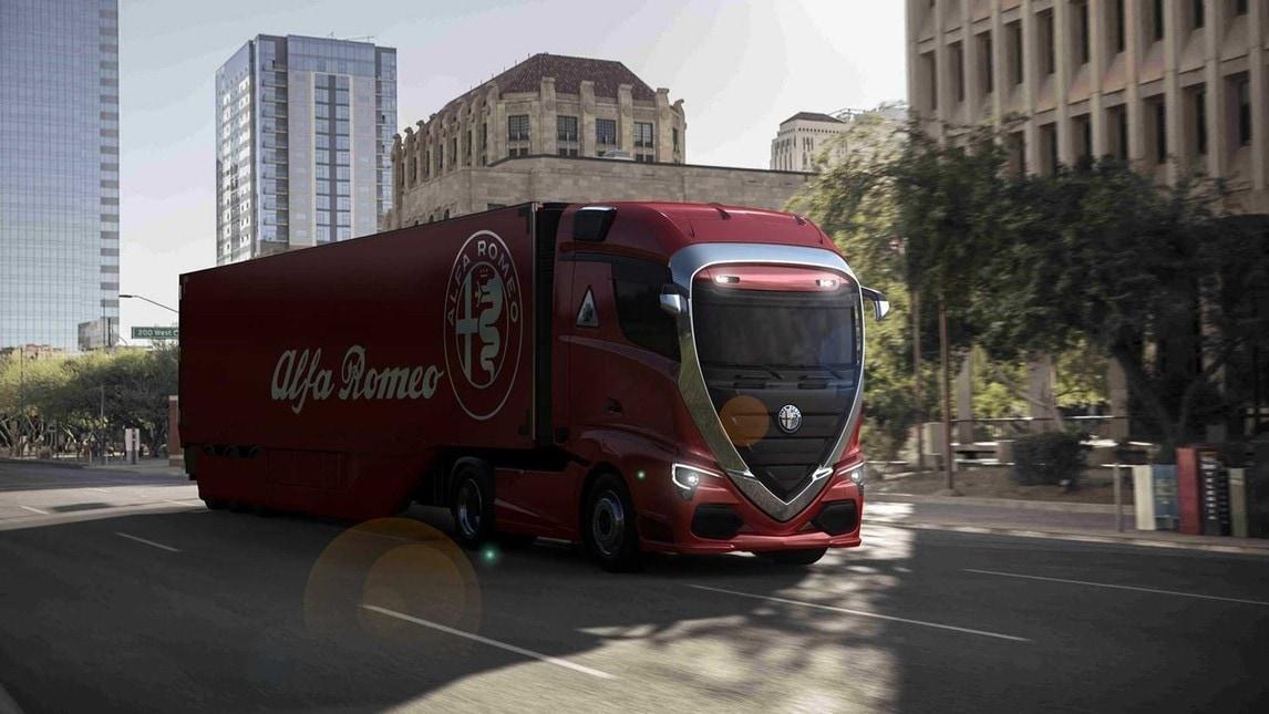 alfa romeo omaggio in veste truck al biscione. Black Bedroom Furniture Sets. Home Design Ideas