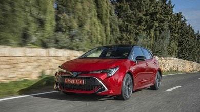 Toyota Corolla Hybrid, la prova su strada