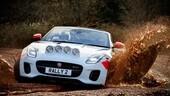 Jaguar F-TypeRally, la prova del fango