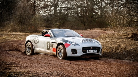 Jaguar F-Type Rally: Foto