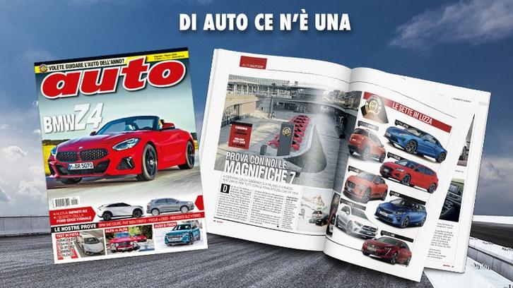 Il nuovo numero di Auto, in edicola il 15 febbraio