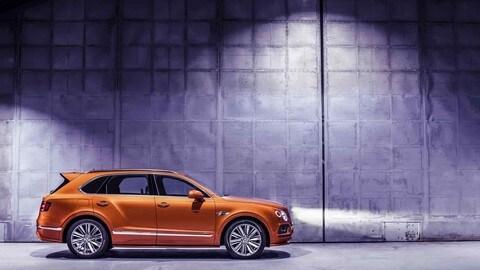 Bentayga Speed, il SUV più veloce è Bentley: foto
