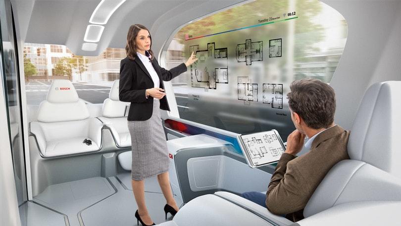 Bosch in viaggio verso il futuro con il treno verde
