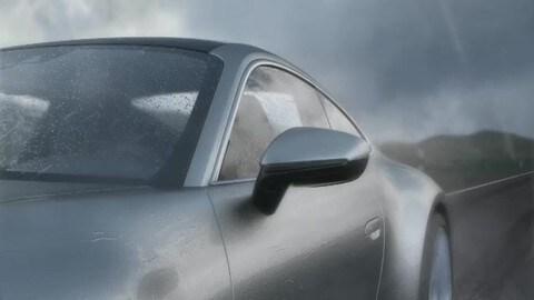 VIDEO: Nuova Porsche 911, Wet Mode