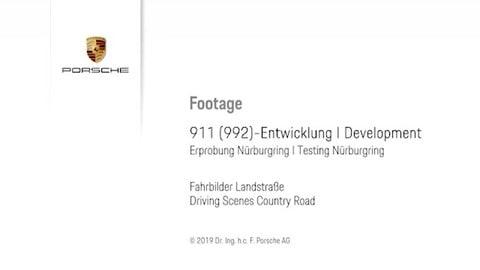 VIDEO: Nuova Porsche 911, test al Nurburgring