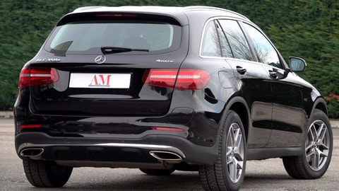 Mercedes GLC 350e Plug-In Hybrid VIDEO